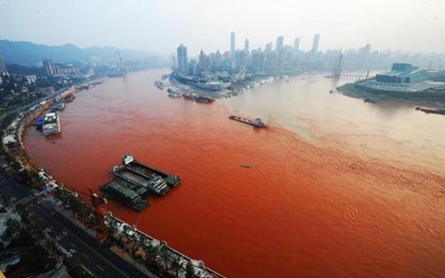 Červené řeky, oceány